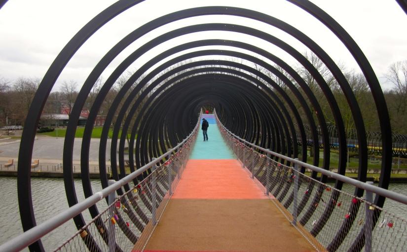 Verrassingen langs het Rhein Herne Kanaal inOberhausen