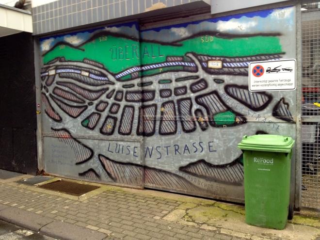 Luisenviertel streetart