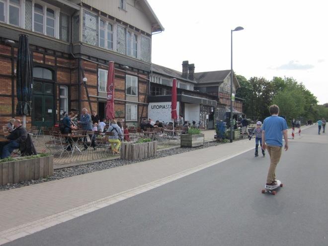 Nordbahnstrasse bij Utopiastadt