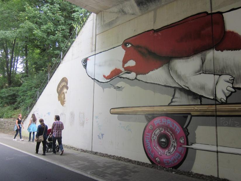 De Nordbahntrasse in Wuppertal geeft jevleugels