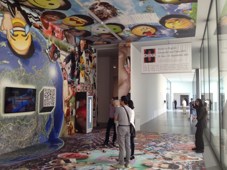 China8, toegang naar expositie, Folkwang