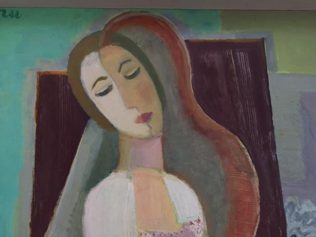 Wapperende engelenvleugels en na-oorlogse kunst inWitten